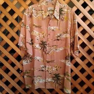 REYN SPOONER HAWAIIAN TRADITIONAL ALOHA SHIRT